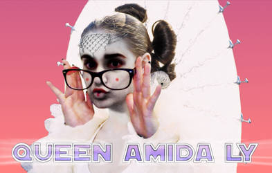 Queen Amada Ly Logo Pink Gradient by beatmover