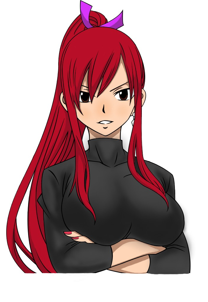 erza scarlet by Acidbl00d