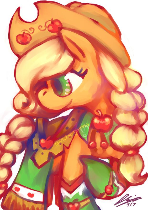 Gala Apple Jack by Scarlet-Songstress