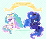 Cute Little Royal Sisters