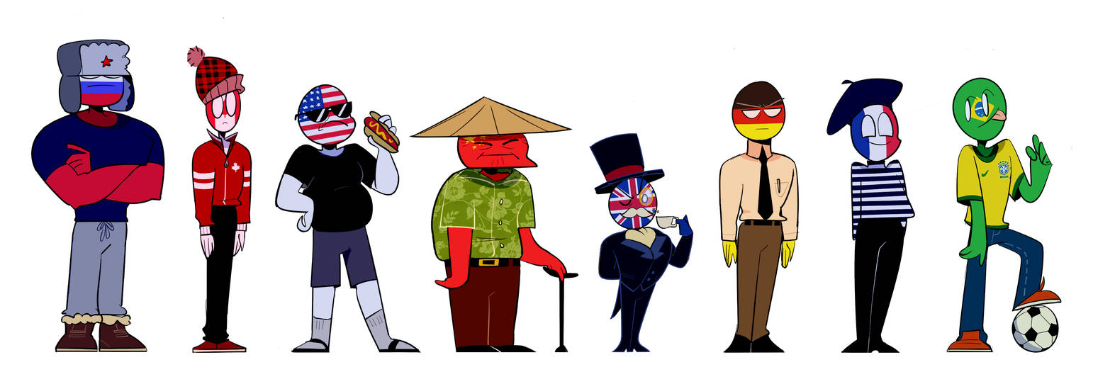 Countryhumans But Theyre Actually Decent By Flippin-Fatbears On Deviantart-8691