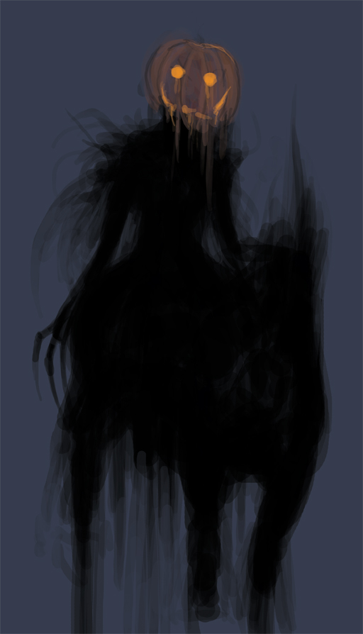 ++Headless Horseman - Sketch