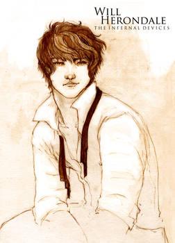 Will Herondale - Sketch