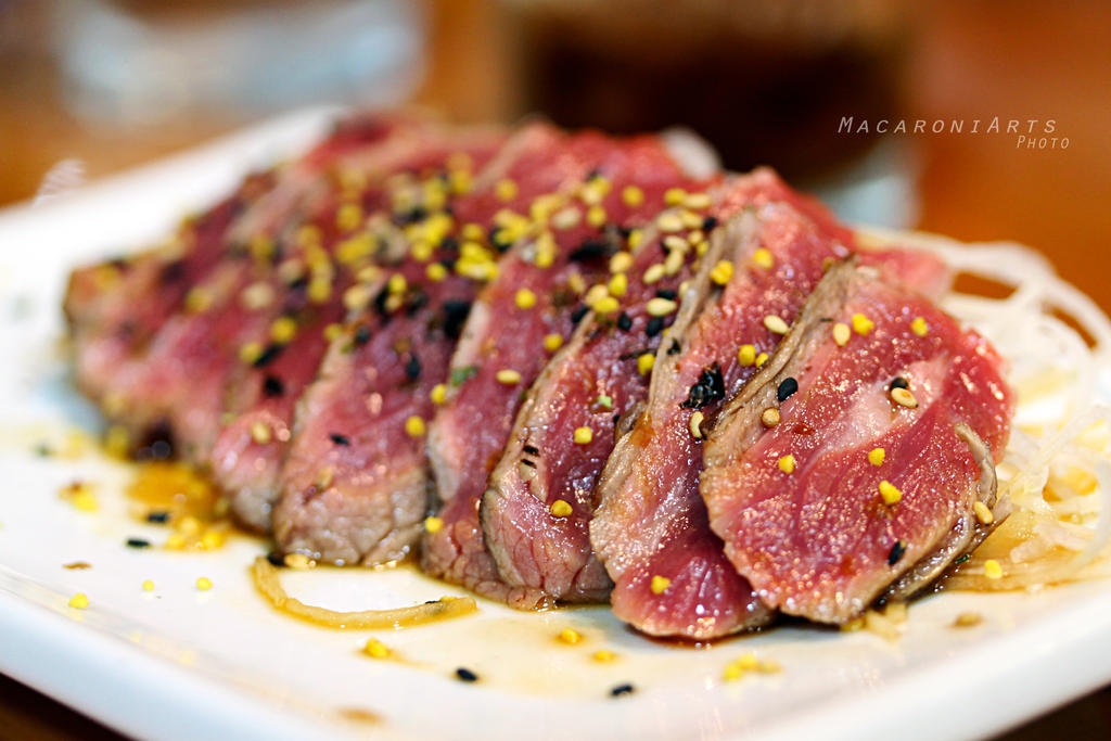 Beef Tataki by thebreat