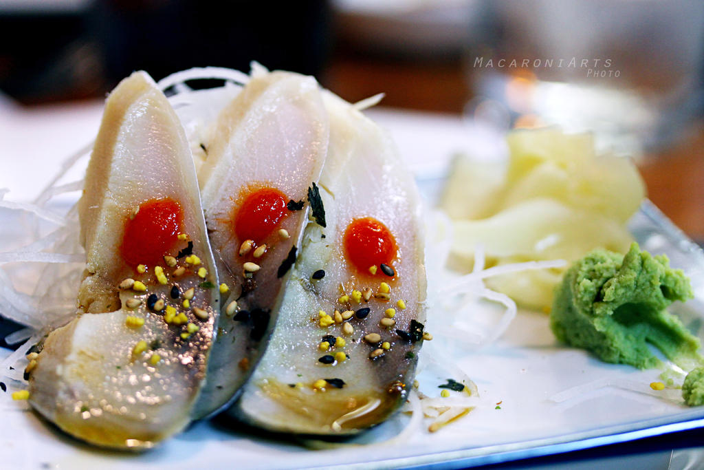 Mackerel Sashimi by thebreat