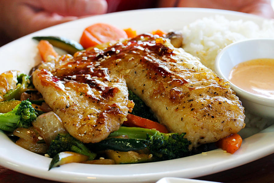 Tilapia Hibachi by thebreat