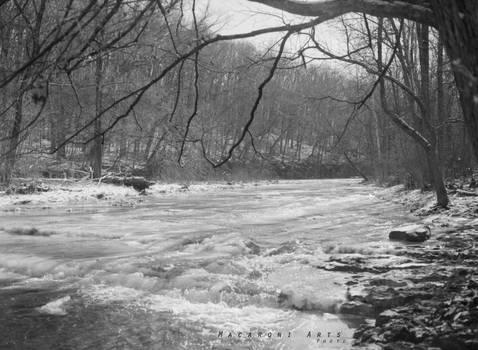 Anderson Falls Mid-Winter