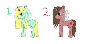 Christmas Virtue Pony Adopts by 1bookfish