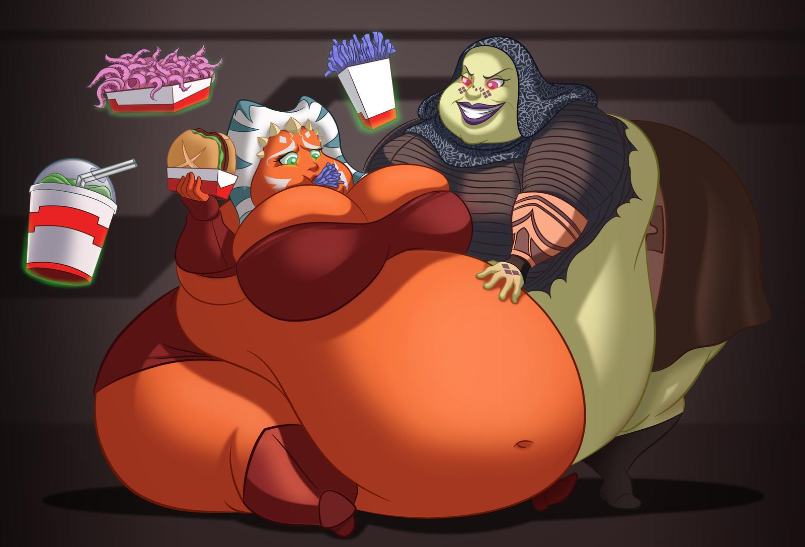 Комиксы мамина толстая попа