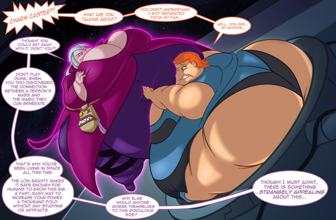 Gwen vs Charmchaster by TubbyToon