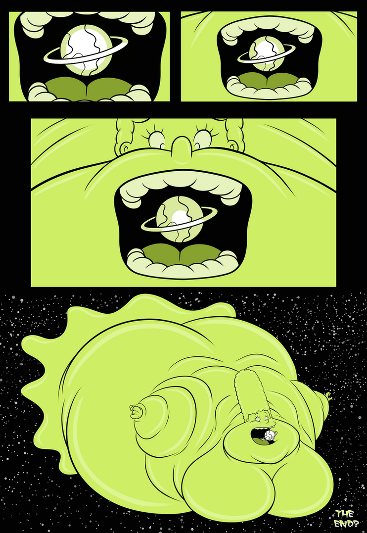 Simpsons: Color From Space (Part 7) by TubbyToon