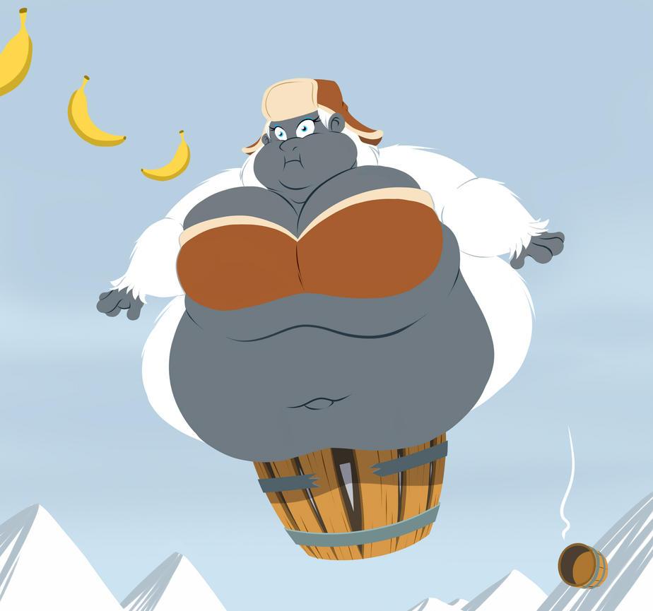 Glacia's Barrel Dud by TubbyToon