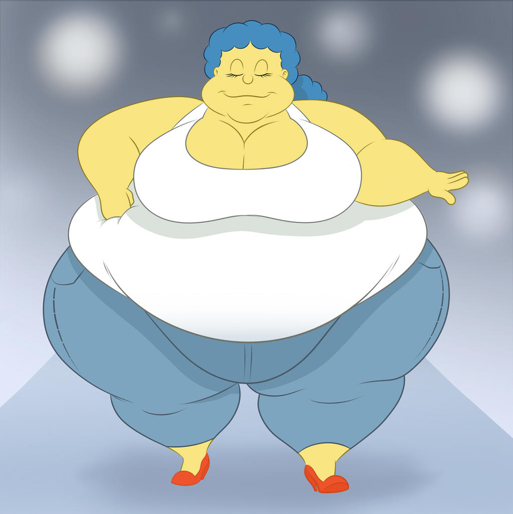 Marge Jeans by TubbyToon