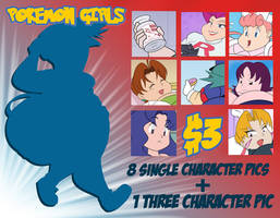 Pokemon Girls Preview by TubbyToon