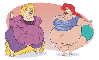 Ariel and Rapunzel (Part1)