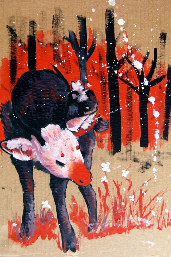 Oh Deer by Batfood
