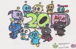 Happy 20th anniversary Chao Island! by PeridottoPuffu