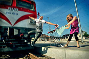 Extreme Ironing by nAgLiMaNtAs