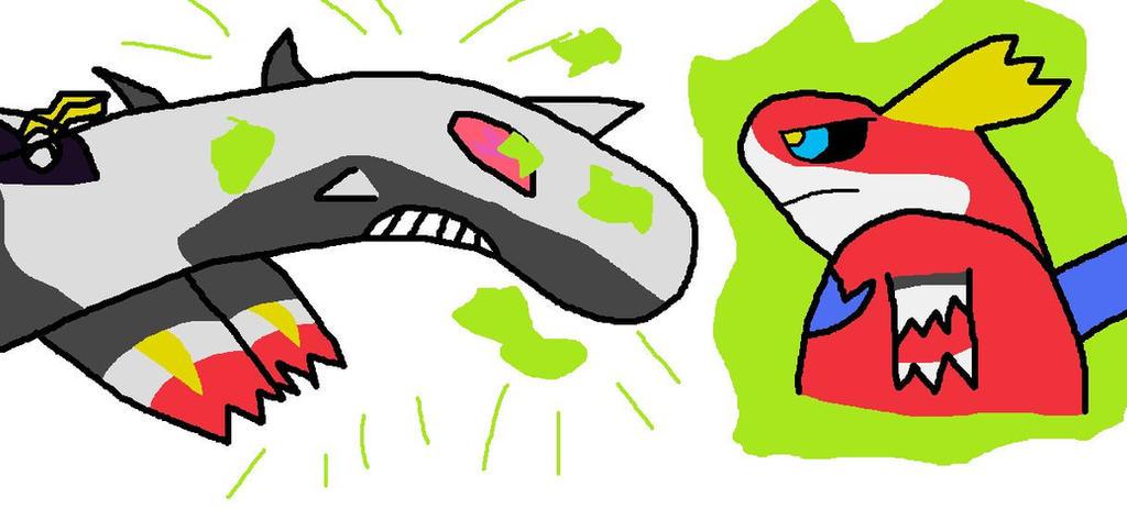 Omega Prime VS Galvatron