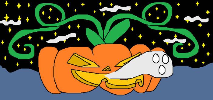 Pumpkin Hollow Ghost