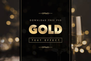 Download Photoshop Text Effects - Gold Text Effect
