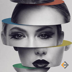 Sliced head  Photo Manipulation