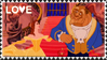 Beauty and he Beast stamp 14 by UDeeN