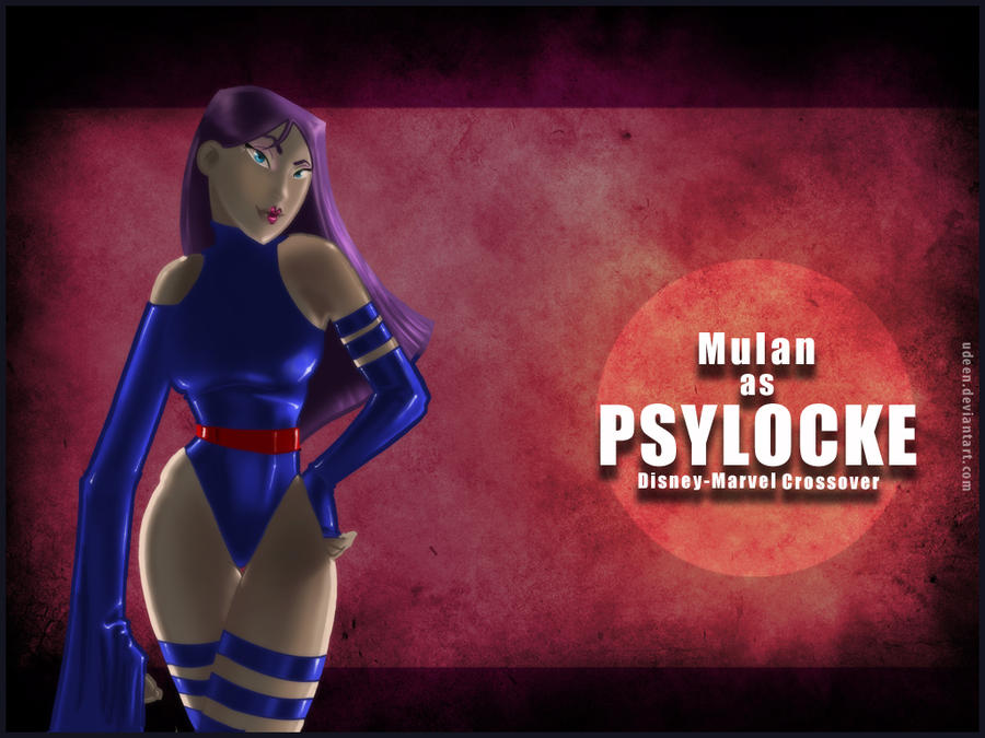 Mulan As Psylocke Wallpaper By UDeeN On DeviantArt