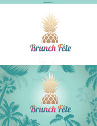 Brunch Fete Logo by UDeeN