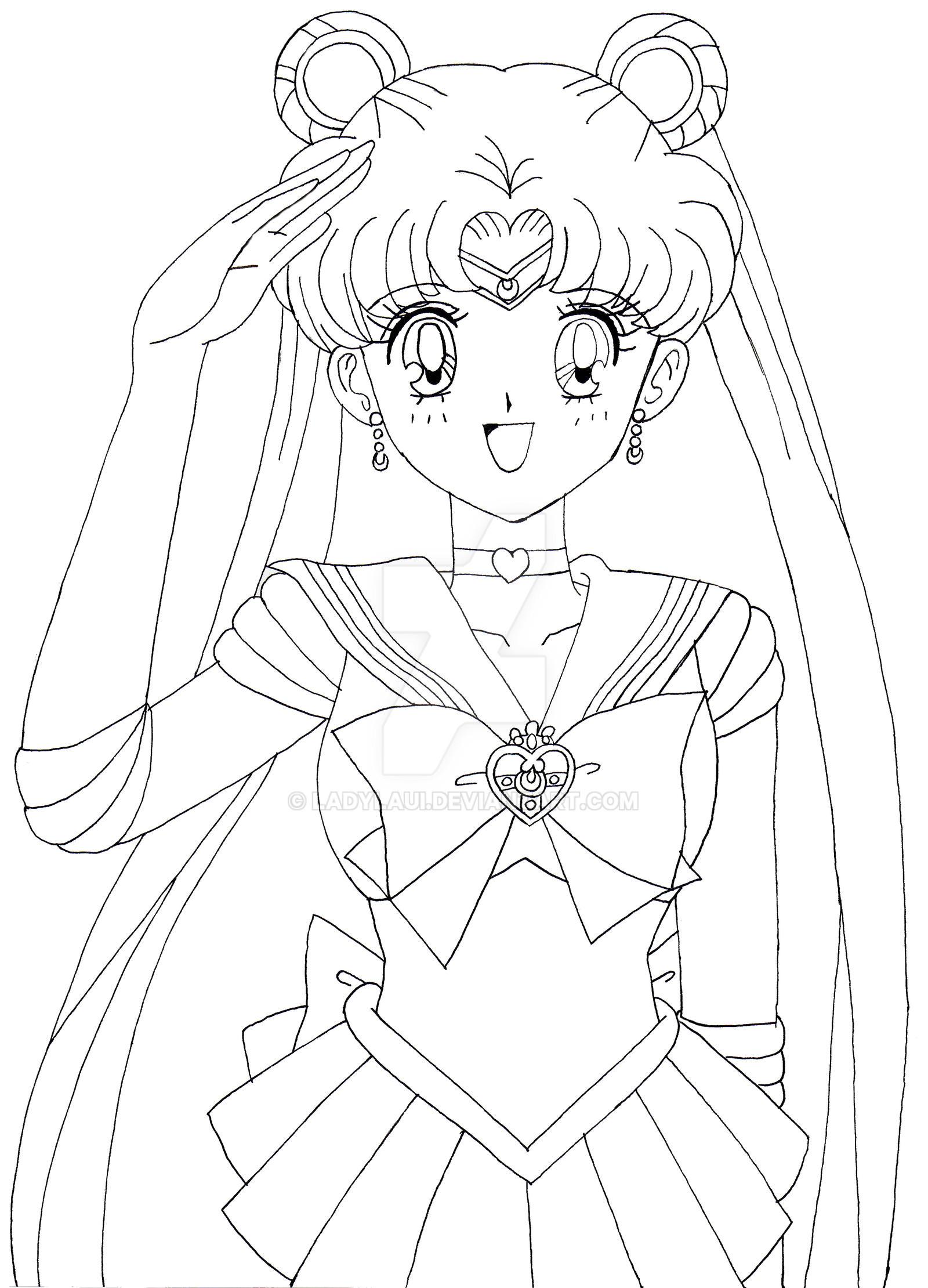 Line Art Resolution : Lineart sailor moon cosmic heart brooch by ladylaui on