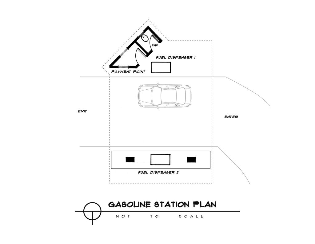 Gas station floor plan by chrisgyro designs interfaces architectural