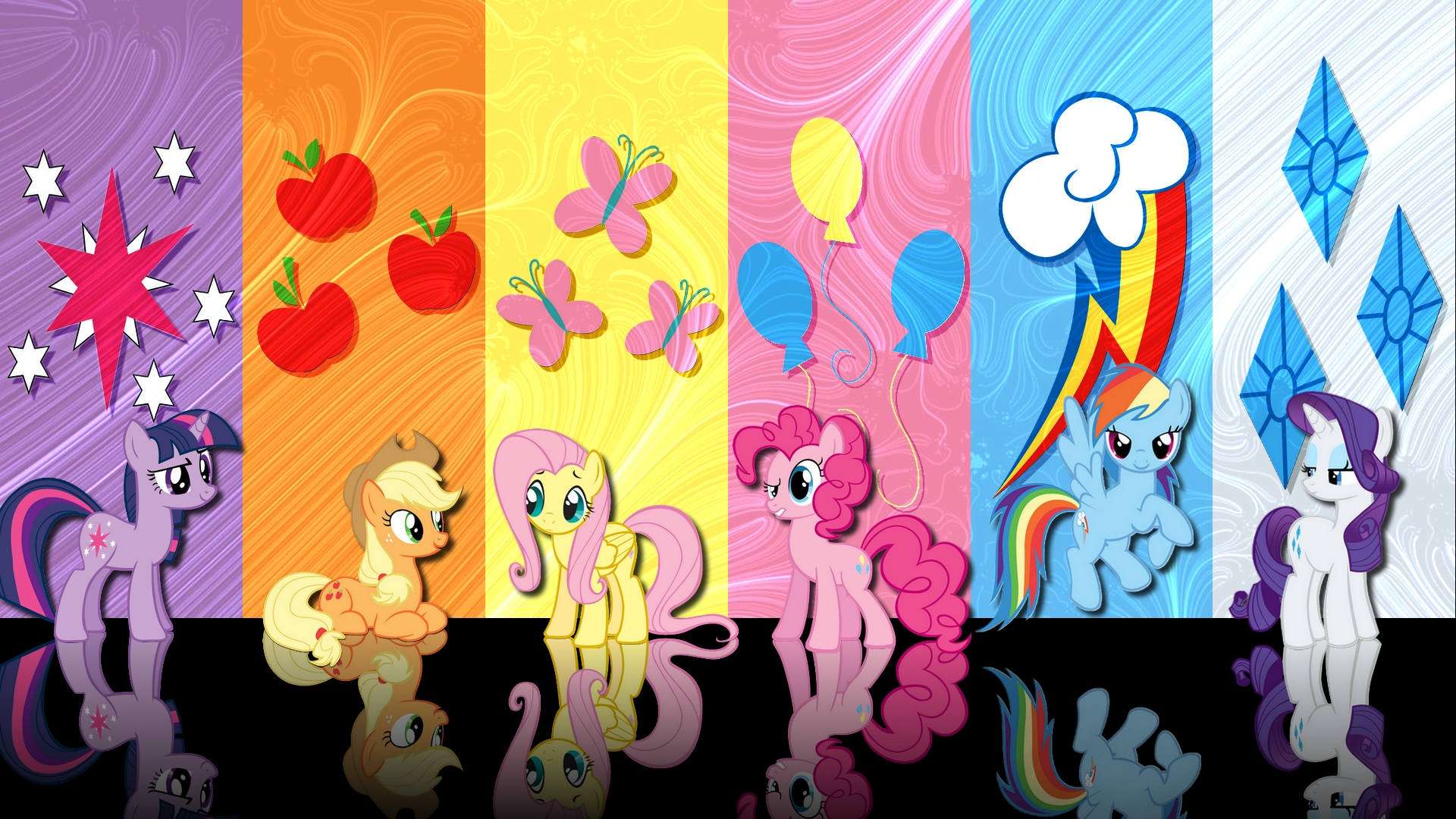 android mane 6 wallpaper - photo #11