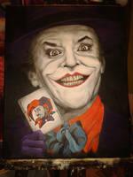 The Joker - Jack Nicholson by luullaby