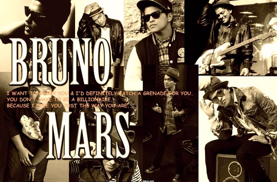 Bruno Mars Collage. By Iistel On DeviantArt