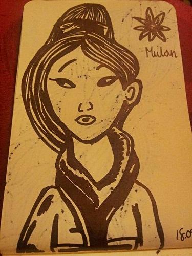 Mulan by iistel