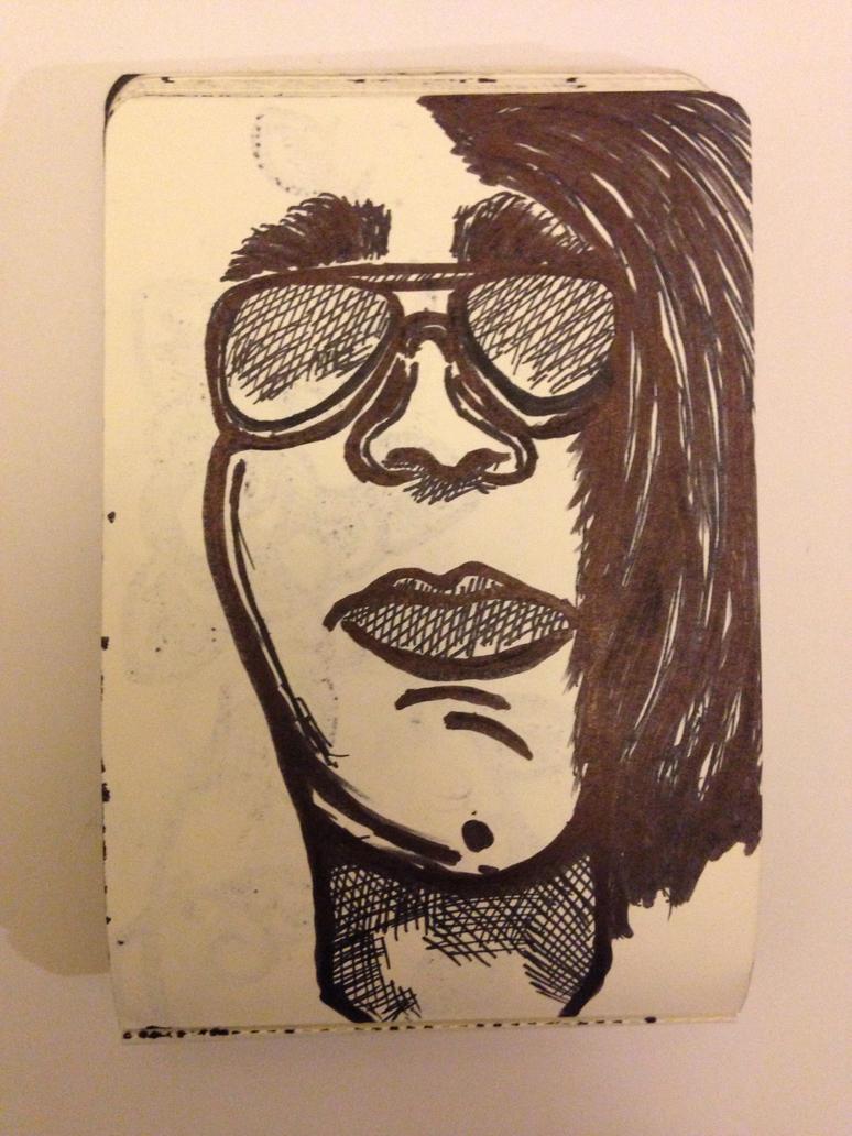 Self portrait attempt. by iistel