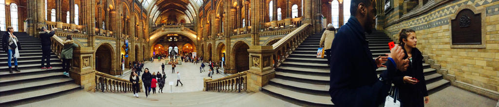 Natural History Museum panorama by iistel