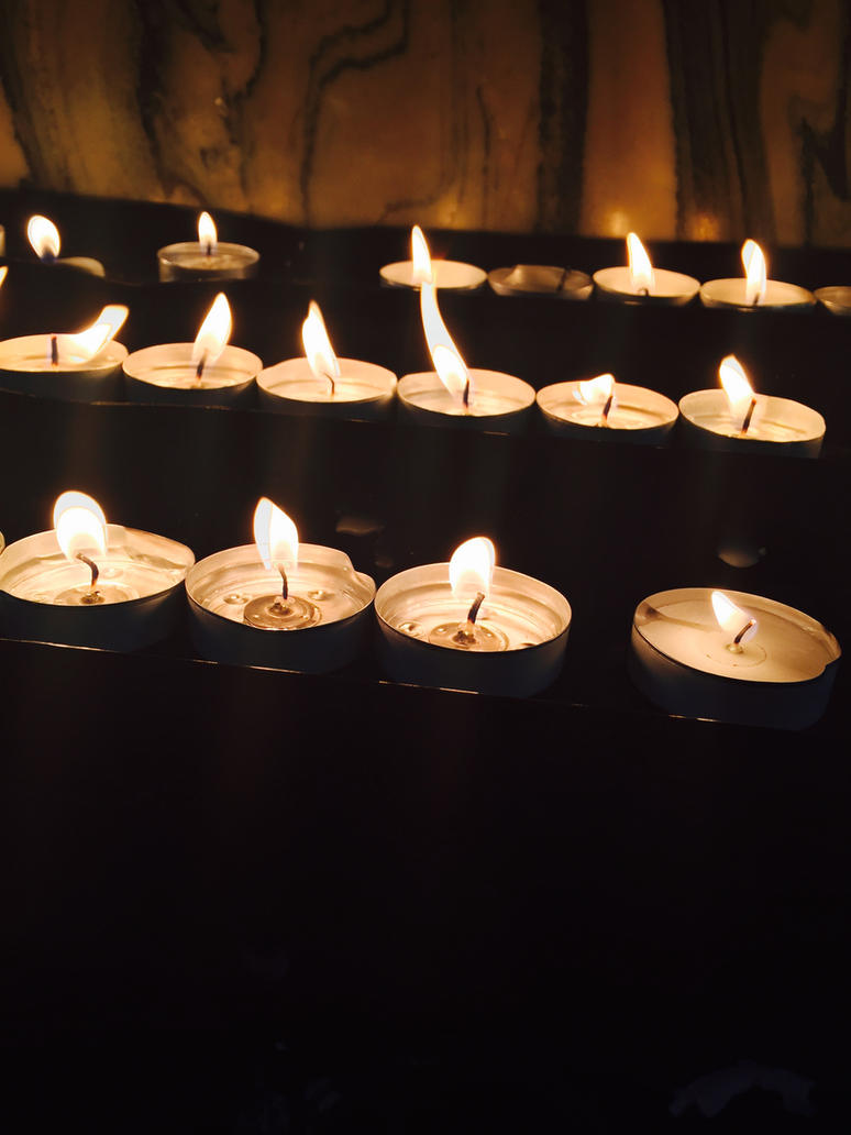 Prayer candles. by iistel