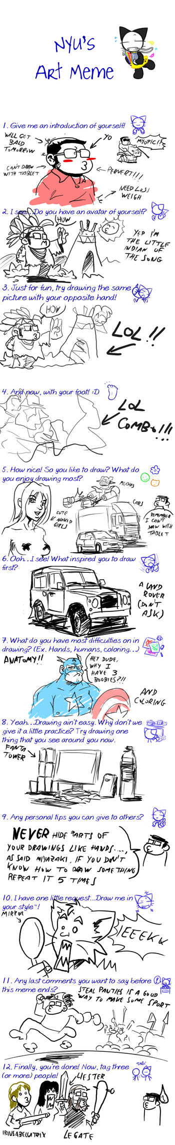 Art Meme pantsu-pantsu by Pablocomics