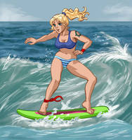 Surfer girl by Pablocomics
