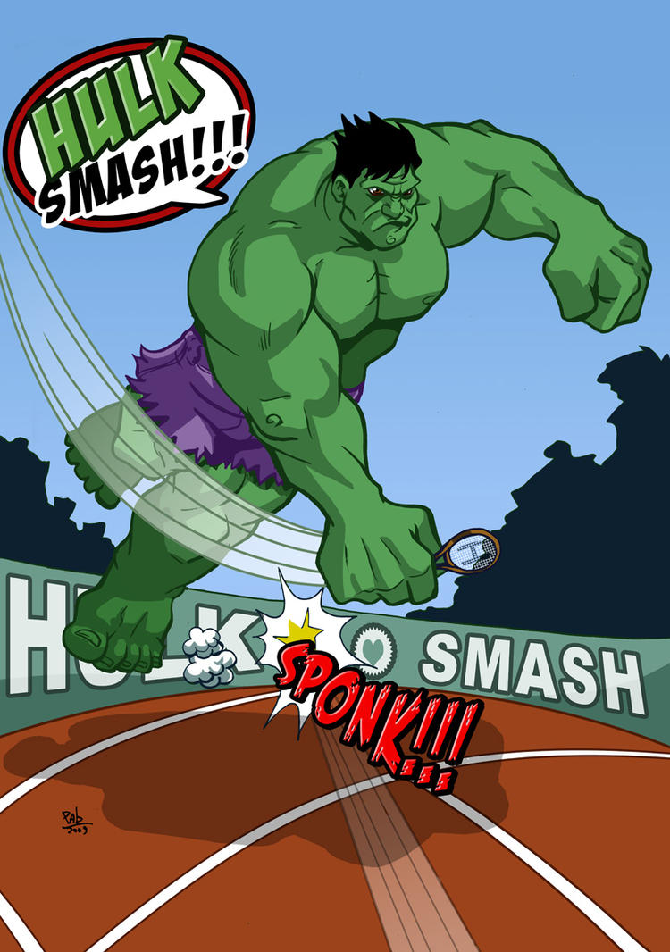 Hulk Smash by Pablocomics
