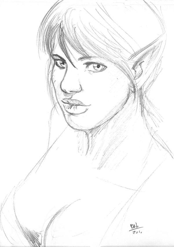 Enmera sketch by Pablocomics