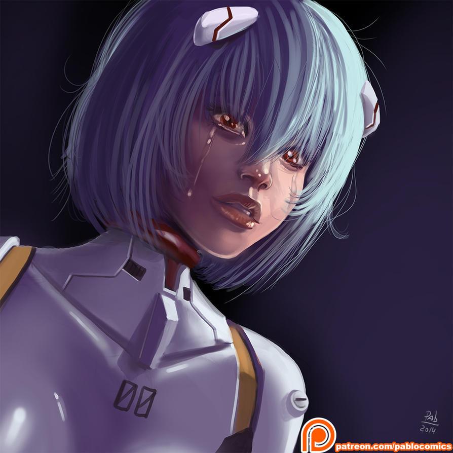 Rei Ayanami by Pablocomics