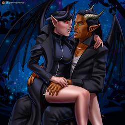 dragonewts flirting