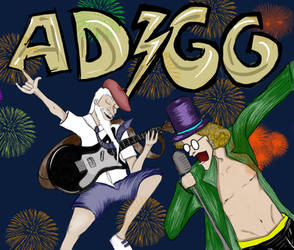 ADGG ROCK YOUR WORLD by Palombi