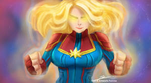 Captain Marvel by FenRox