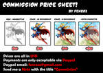 Commission Price Sheet!