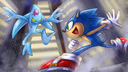 Sonic vs Chaos