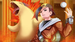 Gold And Typhlosion