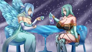 Commission - Tea time